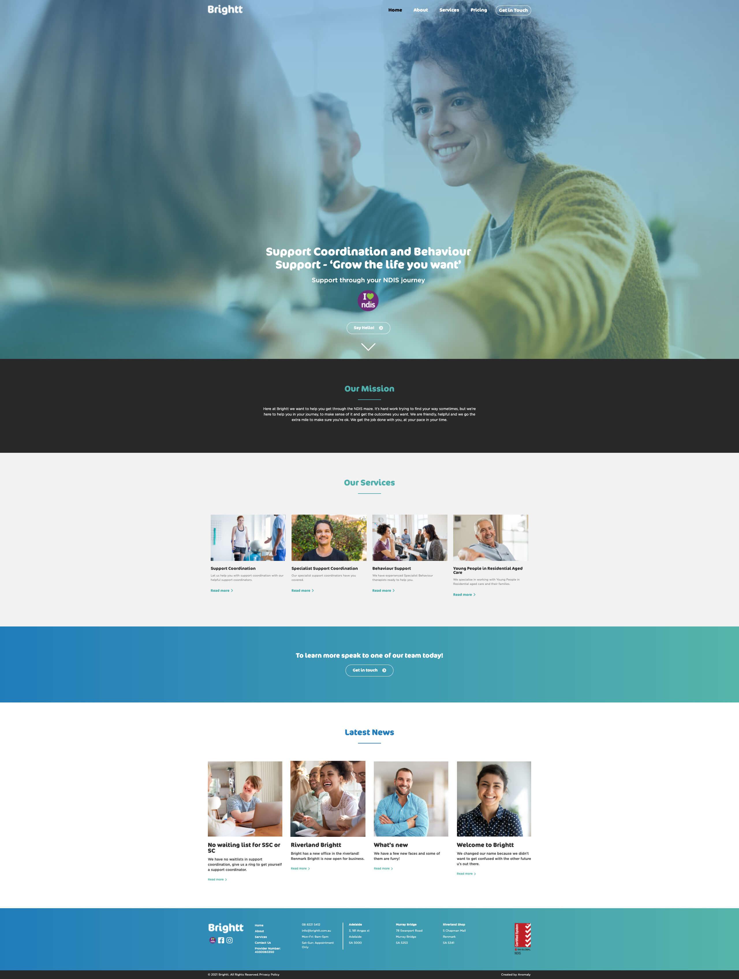 Brightt website
